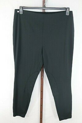 Lauren Ralph Lauren Black Stretch Straight Leg Pants Size 2X