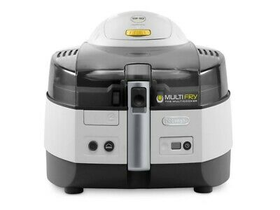 DeLonghi Fritteuse 0125.394016 FH1363/1 Multifry Extra weiß/antrazit