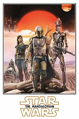 "The Mandalorian Poster (11"" X 17"") Collector's Poster DISNEY STAR WARS Pascal"