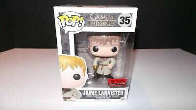 Funko Pop! Game Of Thrones #35 Jaime Lannister Gold Hand  W/ Pop Protector