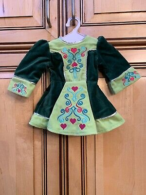 American Girl Doll Today Nellie Retired IRISH Lucky Charm Outfit DANCE DRESS