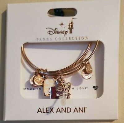 Disney 2019 Alex & And Ani UP Carl Ellie Greatest Adventure Rose Gold Bracelet