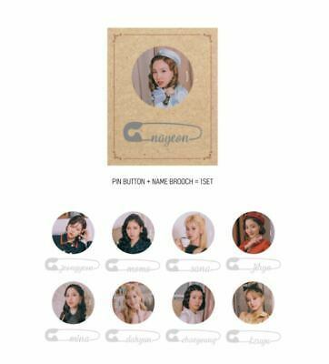 Twice Fanmeeting Once Halloween 2 2019 Official Goods Pin Button Set Sealed