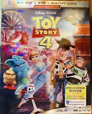 Toy Story 4 Blu Ray, Dvd And Digital Copy 2019