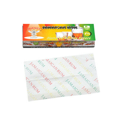 5packs Hornet MOJITO Flavors Papers Tobacco Smoking Rolling Paper 78*44MM