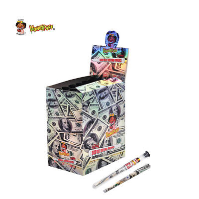 HONEYPUFF King Size Dollar Pre-Rolled Cigarette Rolling Papers Cones 24 Tubes