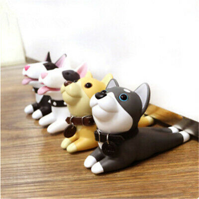 Cute Cartoon Dog Door Stopper Holder safety for baby Dog Anime Figures Toys Lin