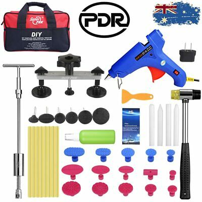 47pc PDR Dent Repair Puller Bridge Slide Hammer Car Hail Paintless Removal Tools