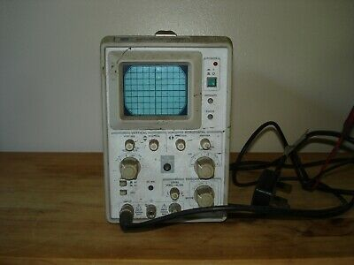 GW GOS-310 10MHz Oscilloscope Used Tested