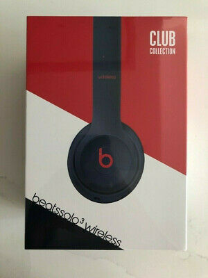 UNOPENED Beats by Dr. Dre Solo3 Club Collection Wireless Headphones Navy