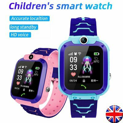 Kids Boys Girls Childrens Watches Smart LBS GSM Locator Touch Screen Tracker SOS