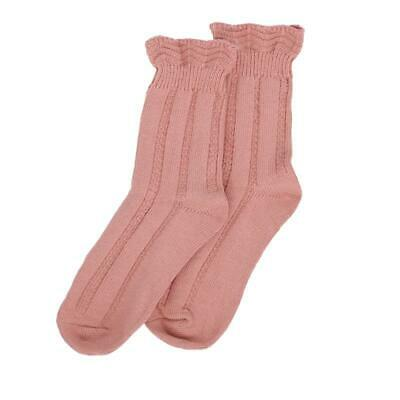 Millie Mae New for AW19 Womens Ruffle Top Pink Socks