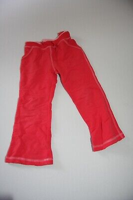 Pink Pumpkin Patch girls elasticated tracksuit bottoms - size/age 3