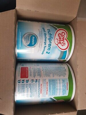 6 x Cow & Gate Nutriprem 2 Post Discharge Formula 800 g