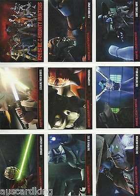 Star Wars - Clone Wars 2 - Rise of the Bounty Hunters - Complete 90 Card Set -NM