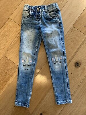 Girls Unicorn Jeans From Next Age 4-5 Years