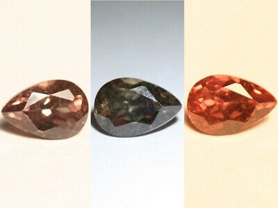 1.14ct Colour Change Garnet - Custom Cut with Rare Superb Colour Change