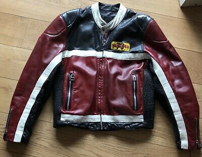 Ségura Veste de Moto Cuir Joe Bar Team Motorcycle Leather Taille 5