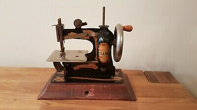 Vintage miniature childs DIANA Toy Sewing Machine Made in Germany