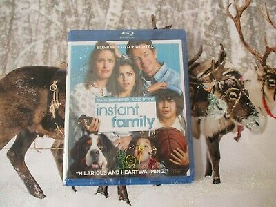 NEW Sealed Instant Family Blu-Ray DVD Digital Movie Mark Whalberg