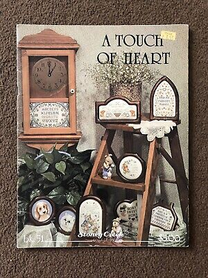Stoneycreek Collection A Touch Of Heart Cross Stitch Pattern