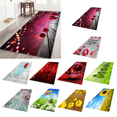 "Digital Soft Warm Non-slip Bedside Rugs Floor Blanket Play Mat 23""x70"""