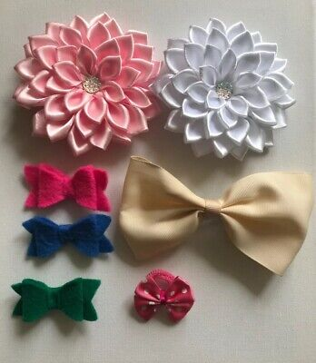 Girls Hair Bow Hair Clip Bundle