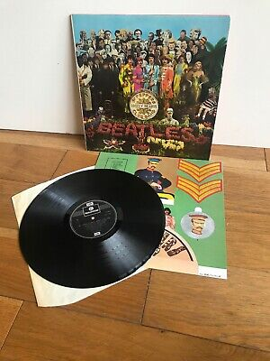 The Beatles - Sgt Peppers Lonely Hearts Club Band - Record/LP - Lots listed.