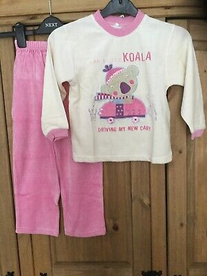New With Tags Girls Pyjamas , Age 4 Years From Dragon Force , Theme Koala