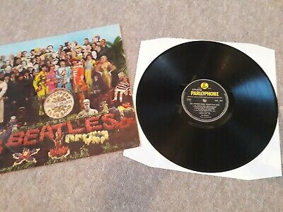 Beatles The Sgt Pepper's Lonely Hearts Club Band Viny LP Album Record 1967 Mono