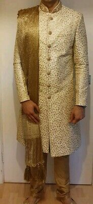 Mens Indian Wedding Groom Sherwani