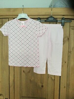 New Girls Pyjamas Age 5-6 Years , From Bonny , Colour Pink Theme Spots