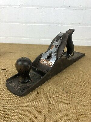 Vintage Stanley Bailey No. 5 1/2 Hand Plane Woodworking