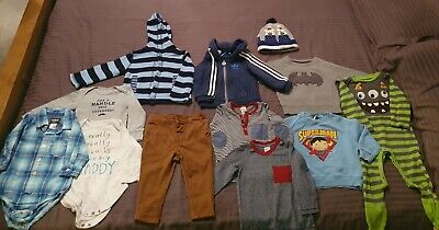 Bundle of Baby Boys Clothes. 6-9 Months. Adidas, Next, Jojo Maman Bebe, Osh Kosh