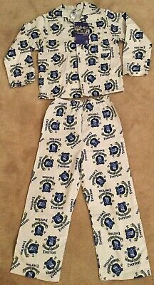 3-4 up to 9-10 YEARS BOYS CHELSEA F.C WINCEYETTE BRUSHED COTTON PYJAMAS AGES