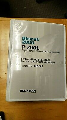 Beckman Biomek 2000 P200L Single Tip Pipette Tool