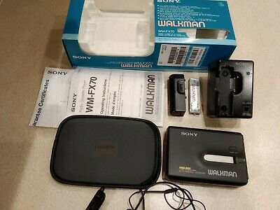 Sony Walkman Wm-Fx70 Cassette Player Radio (Unused)