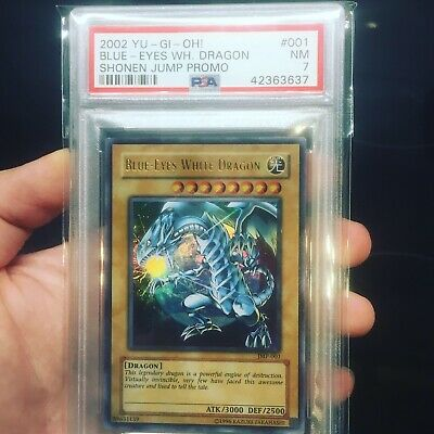 Yu-Gi-Oh! Blue Eyes White Dragon JMP-001 PSA 7 Near Mint
