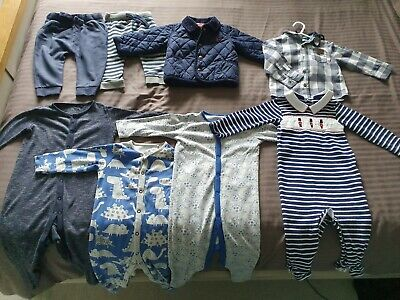 Bundle of Baby Boys Clothes. 9-12 Months. Joules, Jojo Maman Bebe, Next, M&S