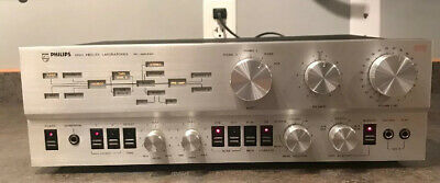 Philips High Fidelity Labs 572 Pre-amplifier RARE Works Great Excelent Cosmetics
