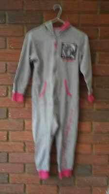 Girls Grey One Direction All In One Pyjamas 6/7 Years Marks & Spencer