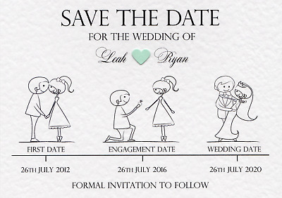 1 Sample - Save The Date/Save The Evening.