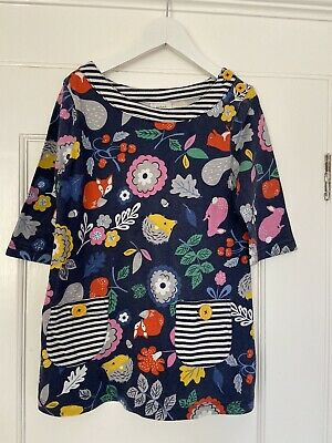 Girls Mini Boden Hedgehog Woodland Tunic Style Dress for 5-6 Years Old