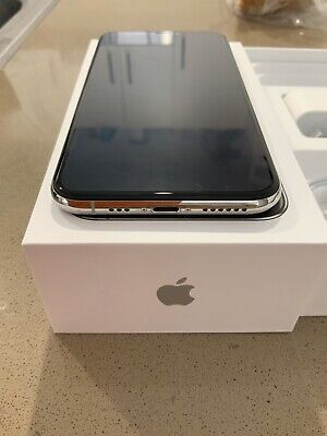 Apple iPhone XS - 256 GB - Silver (Unlocked) A2097 (GSM) (AU Stock)