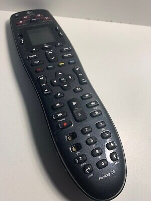 Logitech Harmony 700 8-Device Universal Remote 915-000267 (Parts Or Repair)