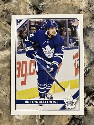 2019-20 Topps Auston Matthews Toronto Maple Leafs NHL Hockey Sticker #459