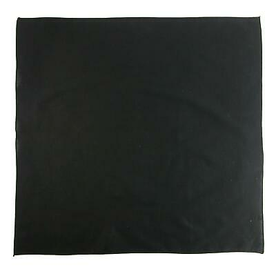 New CTM 27 Inch Extra Large Cotton Solid Color Bandana