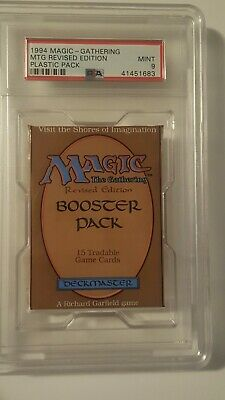 1994 MTG Magic the Gathering 3rd Edition Revised Booster Pack Mint