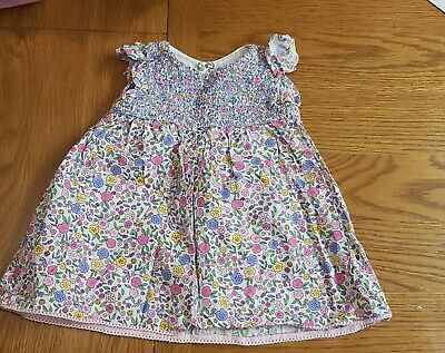 Baby Girls 3-6 Months Jojo Maman Bebe Floral Dress And Knickers