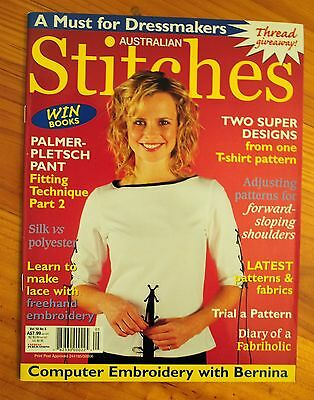 Australian Stitches magazine Vol. 10 No 8 Fitting technique with Palmer Pletsch